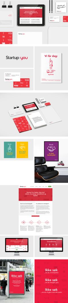 Startup:You on Behance