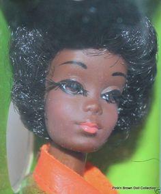 1969 Brunette Barbie Friend TALKING CHRISTIE' Non TNT' MOD Doll #1126 - NRFB