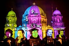 Festival of Lights, Berliner Dom