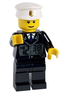 Lego™ Man Alarm Clock. Need this for my little cousin