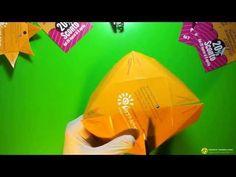 Progetto grafico Sun-Club, il sole origami: video tutorial sulla creazione del volantino a forma di sole #grafica #stampa #flyer #guerrillamarketing #origami