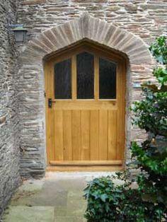 External Oak Door Big Doors, Arched Doors, Portal, External Oak Doors, Ideal House, Love Your Home, New Builds, Doorway, Door Wreaths
