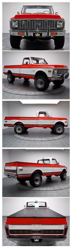 Chevy Enthusiast Pick this Trucks Model Year as their Top Favorite Gm Trucks, Lifted Trucks, Cool Trucks, Pickup Trucks, 67 72 Chevy Truck, Classic Chevy Trucks, Chevrolet Trucks, Chevy 4x4, Automobile