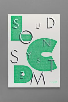 Vancouver studio Post Projects -  LCD Soundsystem poster https://www.behance.net/gallery/2983717/LCD-Soundsystem