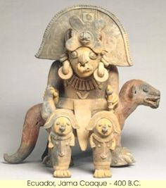 Ancient Peoples of South America - Ecuador: Pictures
