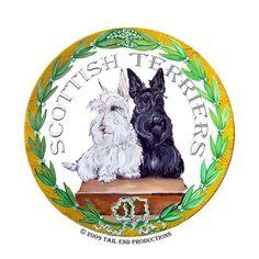 Scottish Terrier Crest