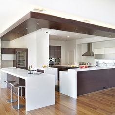 Lighting Designs, Amazing Wood Floor White Wall Dark Wood Drop Ceiling With  Track Lighting At 2014 Modern Kitchen Design Ideas ~ Stunning Drop Ceiling  Track ... Part 96