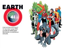 """Earth-41 A dark and violent world. Home of the """"necro floral"""" avenger SPORE…"""