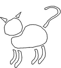 Free Cat Stencils Collection - © Marion Boddy-Evans. Free for personal, non-commercial use only.