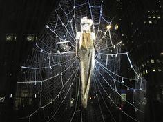 Halloween Window Display at Bergdorf's - Gorgeous