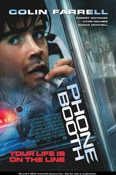 Phone Booth. Great movie first time I saw it was in Germany