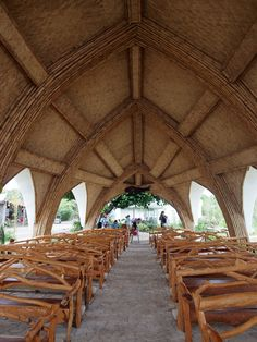 """Although we have Nature's Church in Las Pinas, this Chapel of La Virgen Milagrosa in Badoc, Ilocos Norte is surely one under your """"visit"""" category for this year. Only if you happen to be in Ilocos Norte, Badoc to be specific. :)"""