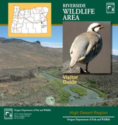 Riverside Wildlife Area visitor guide, by the Oregon Department of Fish and Wildlife