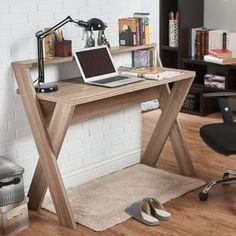 Diy Office Desk In Joleen Writing Desk Diy Wooden Desk Dyi Computer Laptop Handgefertigte Holzmbel Front Desks Pinterest Muebles