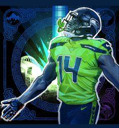 Nfl Seattle, Seattle Seahawks, Nfc Teams, Seahawks Football, 12th Man, American Football, Kicks, Fictional Characters, Google Search