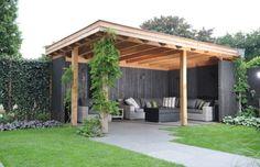 Pergola For Small Backyard Key: 8016066545 Backyard Gazebo, Garden Gazebo, Backyard Patio Designs, Pergola Patio, Terrace Garden, Backyard Landscaping, Pergola Kits, Garden Buildings, Garden Structures
