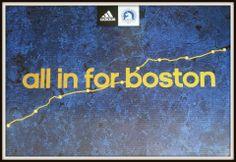 All in for Boston #BostonMarathon