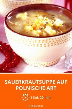 Sauerkrautsuppe auf polnische Art - smarter - Zeit: 1 Std. 20 Min.   eatsmarter.de