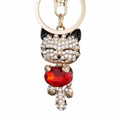 Colored Crystal Rhinestone Metal Cat Car Key Ring or Charm for Women's Handbags     Tag a friend who would love this!     FREE Shipping Worldwide   Brunei's largest e-commerce site.    Buy one here---> https://mybruneistore.com/pro-acme-crystal-rhinestone-metal-cat-keychain-novelty-gifts-couple-key-chain-car-key-ring-women-hangbag-charms-pendant-pwk0393/
