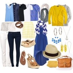 Packing for summer in Paris by sarah-silvers on Polyvore