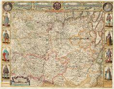 De getoonde kaart van Brabant uit 1637 van Pieter Verbist (1607-1674) is zeer zeldzaam. Het enige andere bekende exemplaar, naast dat van de Brabant-Collectie, is aanwezig in de Bibliothèque Nationale te Parijs. Het Parijse exemplaar heeft echter geen randversieringen.