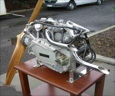 Vincent Picador Drone Aircraft Engine