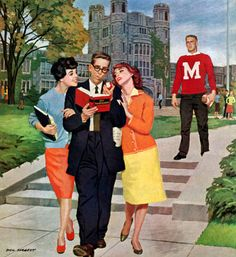 I have the magazine that Dick Sargent originally painted this for.