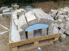 brick pizza oven outdoor How to Make a Homemade Pizza Oven: 8 Steps (with Pictures) How to Make a Homemade P Brick Oven Outdoor, Outdoor Kitchen Bars, Pizza Oven Outdoor, Outdoor Kitchens, Outdoor Rooms, Outdoor Living, Outdoor Seating, Commercial Pizza Oven, Build A Pizza Oven