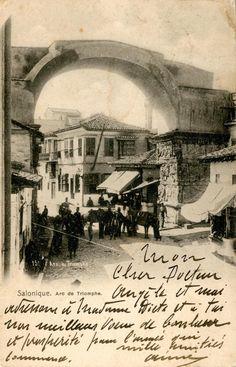 Arc de Triomphe. Salonique.
