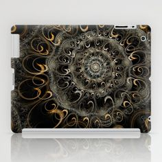 NeonSeries083 iPad Case by fracts - fractal art - $60.00