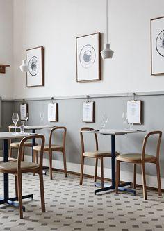 Joanna Laajisto, architetto di formazione statunitense, propone per il Finlandia Caviar Shop & Restaurant un interior design equilibrato, luminoso e nitido