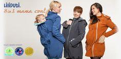 Brand New Mama Coat line!   http://www.liliputibabycarriers.com/babywearing-mama-coat Simple Dresses, Windbreaker, Winter Jackets, Zipper, Pocket, Fabric, Coat, How To Wear, Babywearing