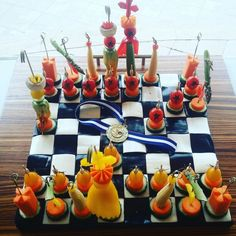 vegetables chess #chess#vegetables#food#gold#carving