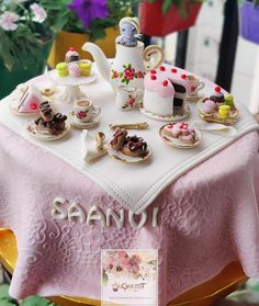 Alice in Wonderland inspired tea party