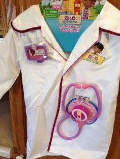 Doc McStuffins Dress Up Set Doctors Lab Coat Disney Costume Play Halloween #Disney #CompleteCostume