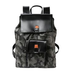 Cheap rucksack school bag, Buy Quality school bags for teenagers directly from China bags for teenagers Suppliers: MLITDIS Camouflage Leather Backpack Men College Sac A Dos Homme Casual Laptop Rucksack School Bag For Teenagers Bucket Backpacks Bucket Backpack, Rucksack Backpack, Duffel Bag, Mode Masculine, Leather Backpack For Men, Leather Men, Tutu, Camouflage, School Bags For Boys