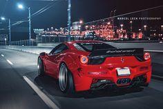 MPPSOCIETY Dozilla12 Liberty Walk PUR Wheels Ferrari 458 27