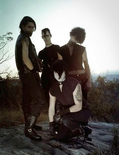 Samhain 1985 in the hills of NJ.  Photo by Michael Vayenas.