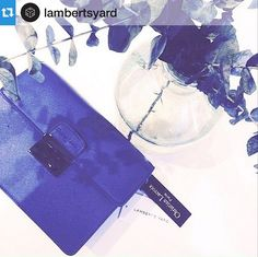 Spring has sprung! #Repost @lambertsyard staging a Christian Lacroix blue bag from SS15 collection. Have a lovely sunny day!