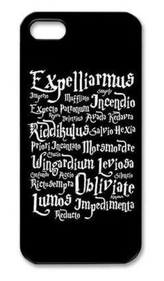 Harry Potter Magic Spell Phone Case Cover for Iphone 4 4s 5 5s 5c 6 6 plus