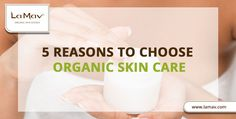 If you still wondering whether it's worth making the switch to organic skin care, check out our top 5 reasons to do so! Your skin will thank you!
