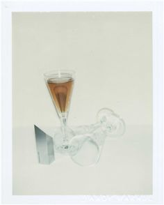 ANDY WARHOL (1928-1987) Committee 2000 Champagne Glasses two unique polaroid prints (detail right) each: 4¼ x 3 3/8 in. (10.8 x 8.6 cm.) Executed in 1982.