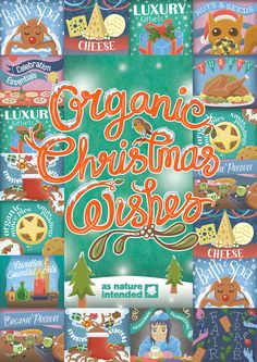 """""""Organic Christmas Wishes"""" Monthly Campaign (November 2015)"""