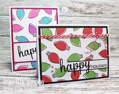 Luv 2 Scrap n' Make Cards, Kendra Sand, Handmade Christmas Cards, Inspired By Stamping