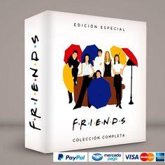 FRIENDS · Inglés con subtitulos #ColeccionCompleta DVD · BluRay · Calidad garantizada. Pedidos: 0414.402.7582 Presentación #BoxSet exclusiva de RetroReto. → http://www.RetroReto.com/