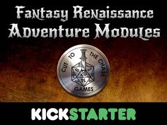 Fantasy RPG adventure modules for 5th Edition, Swords & Wizardry, Pathfinder, and Savage Worlds from Cut to the Chase Games