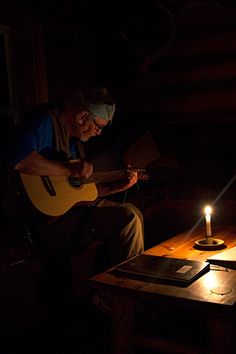 Music by the candle light