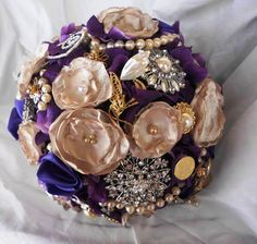 Hey, I found this really awesome Etsy listing at http://www.etsy.com/listing/163631768/brooch-bridal-bouquet-vintage-wedding
