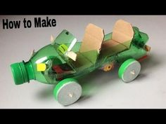 Recycled Toys: 33 Easy-to-Make Pet Bottle Ideas Recycled Toys, Recycled Crafts Kids, Recycled Bottles, Recycled Materials, Recycled Art, Plastic Bottle Crafts, Recycle Plastic Bottles, Diy For Kids, Crafts For Kids