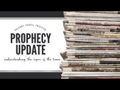Prophecy Update Part 1 2019 - YouTube Yearly Calendar, 2019 Calendar, Prophecy Update, Self Centered, Spiritual Enlightenment, S Word, Teaching, Youtube, Education